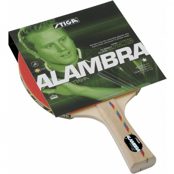 Ракетка для настольного тенниса Stiga Alambra Crystal 1*, арт. 1778-01