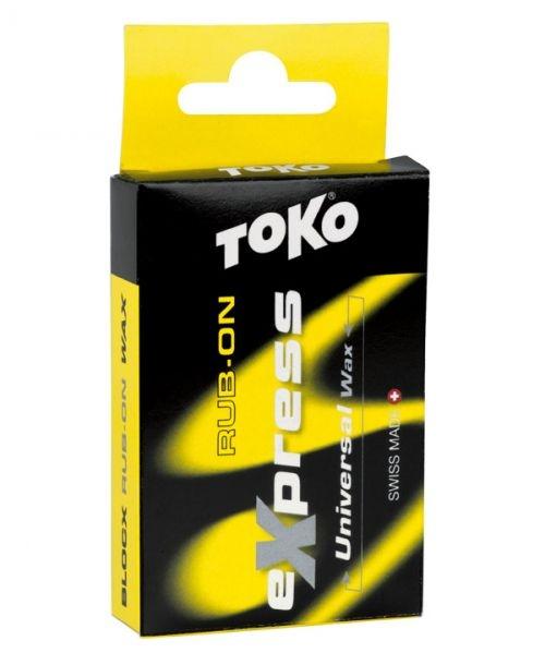 Парафин пастообразный фторированный TOKO Express Blocx, 30 гр, от 0 °С до -30 °С