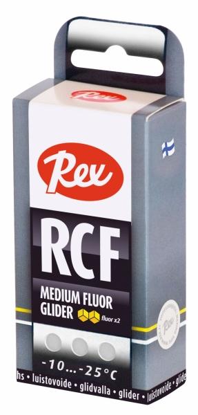 Парафин с содержанием фтора Rex RCF White (белый) -10…-25°C