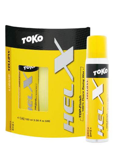 Фтористая жидкая мазь TOKO HelX желтый, 100 мл., 0°С  -4°С