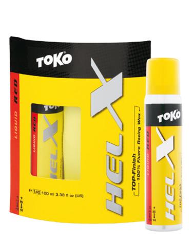 Фтористая жидкая мазь TOKO HelX красный, 100 мл., -4°С -10°С