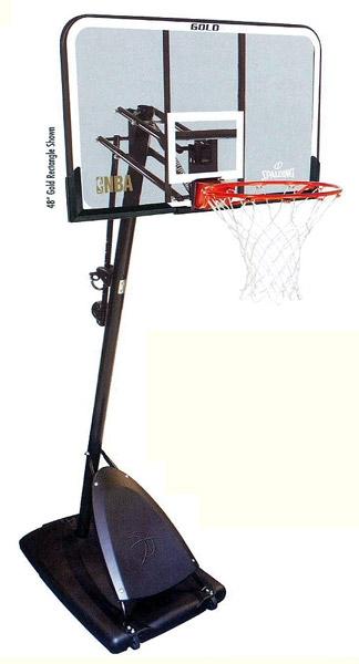 Баскетбольная стойка SPALDING Gold 52