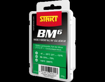 Парафин с высоким содержанием фтора START BLACK MAGIC BM 6 -6º...-25ºC