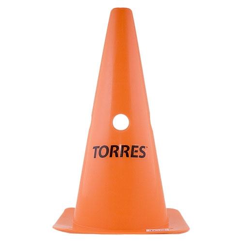 Конус тренировочный TORRES 30 см с отверстиями