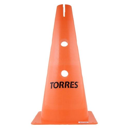 Конус тренировочный TORRES 38 см с отверстиями