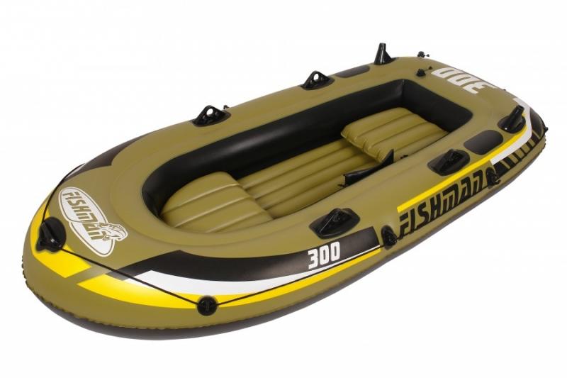 Лодка надувная JILONG FISHMAN 300 SET, арт. JL007208-1N