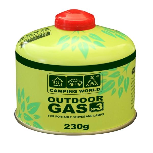 Баллон газовый резьбовой Camping World Outdoor 230 г