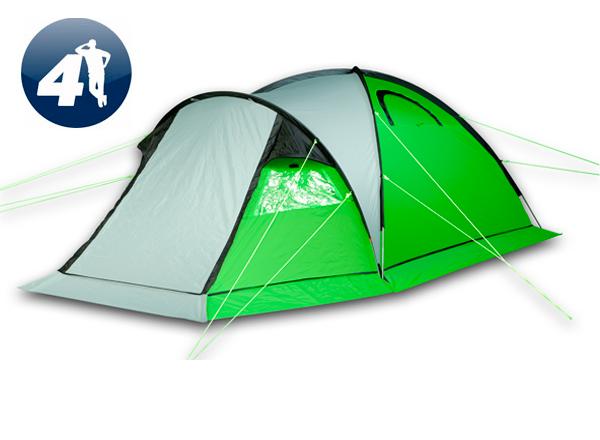 Туристическая палатка World of Maverick IDEAL 400