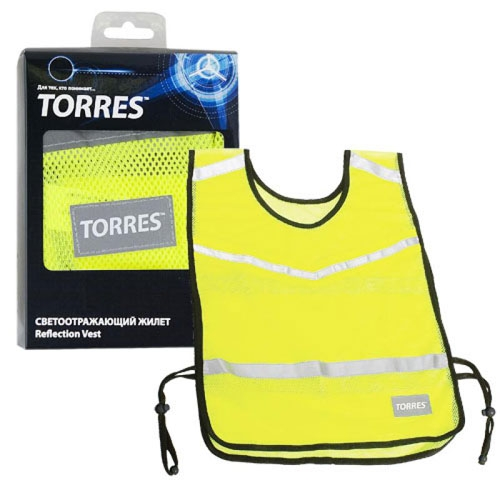 Жилет TORRES светоотражающий, арт. TL11007