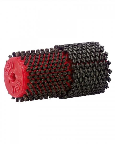 Двойная роторная щетка Swix (стальная/из конского волоса) 140 мм
