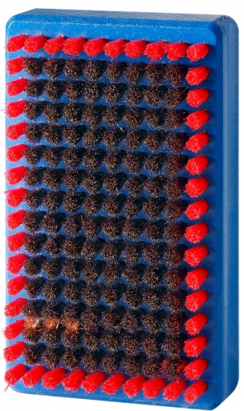 Щетка ручная Holmenkol BaseBrush мягкая бронзовая 120x70мм