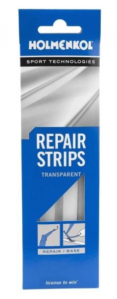 Ремонтные полоски Holmenkol из лыжного пластика RepairStrips прозрачные 5шт.