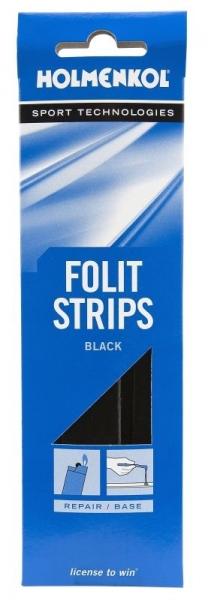 Специальные свечи Holmenkol для ремонта скользящей поверхности FolitStrips чёрные 5шт
