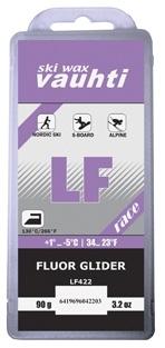Парафин с содержанием фтора VAUHTI LF-RACE Violet +1°...-5°С